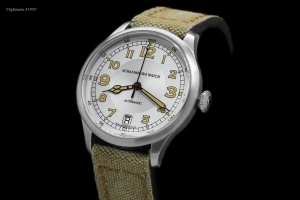 SCHAUMBURG WATCH FLIGHTMATIC 1930 BIG DATE
